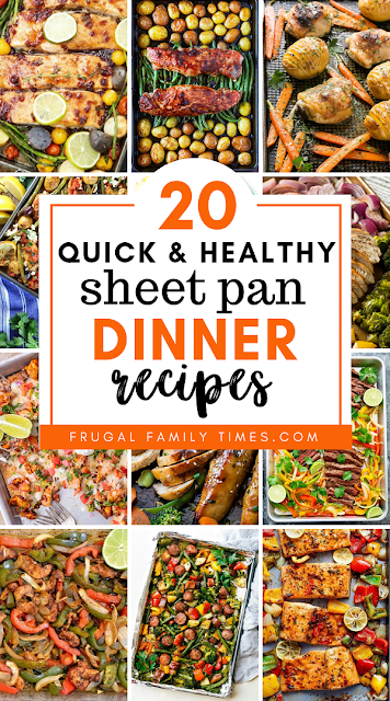 sheet pan dinners healthy