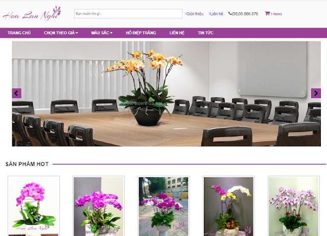 [Share] - Giao diện Shop hoa