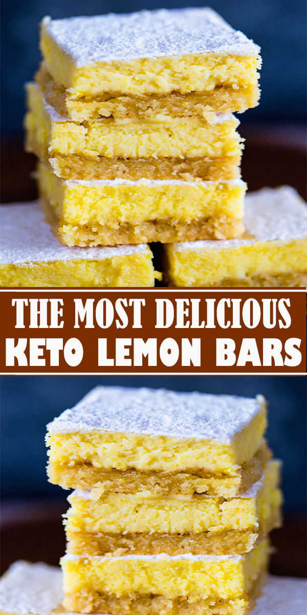 KETO LEMON BARS #KETO #LEMON #BARS ##keto#lowcarb#recipes#food#lemonbars#diet  #KETOLEMONBARS
