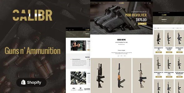 Best Weapon Store and Gun Training Shopify Theme