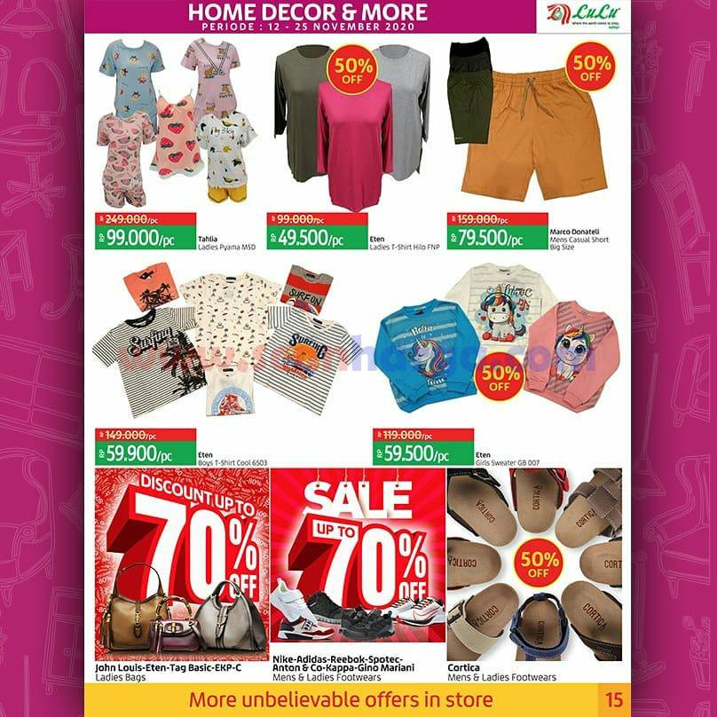 Katalog Promo LULU Supermarket 12 - 25 November 2020 15