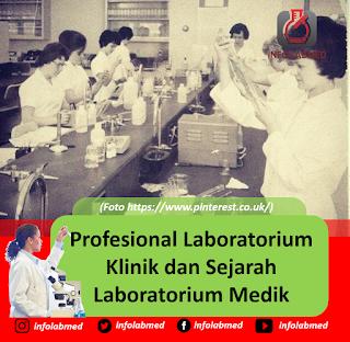 Profesional Laboratorium Klinik dan Sejarah Laboratorium Medik