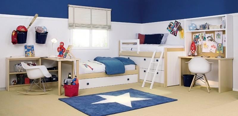 habitación-compartida-camas-L-arcón