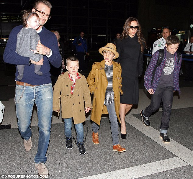 Celebrity News And Gossip: Never Too Old! Brooklyn Beckham