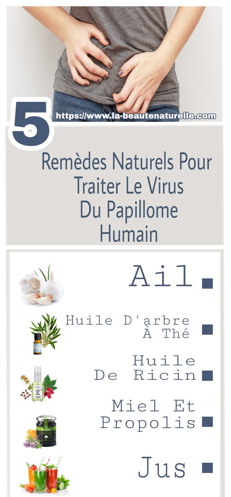 5 Remèdes Naturels Pour Traiter Le Virus Du Papillome Humain