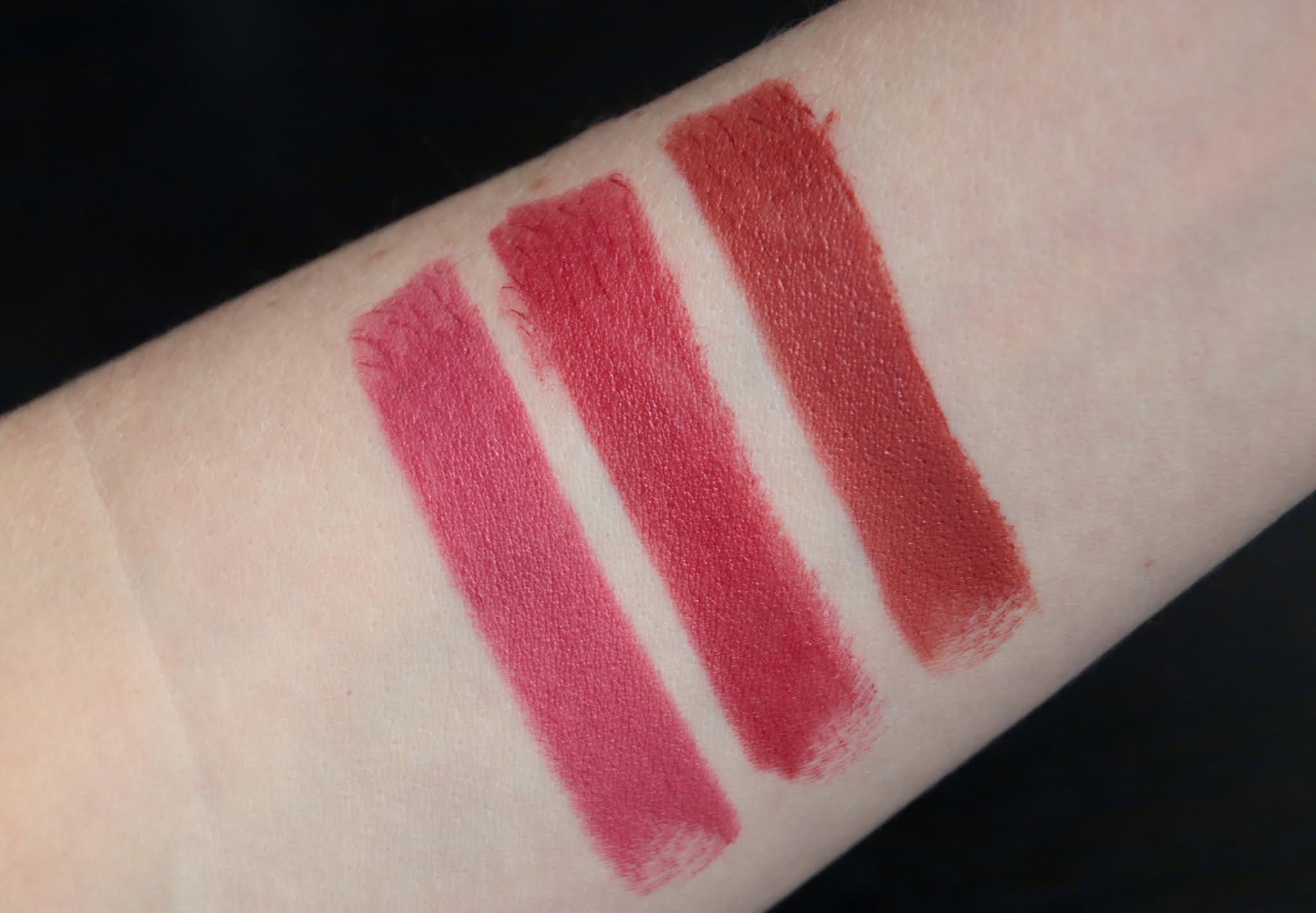 boho rouge à lèvres naturels 106 103 111
