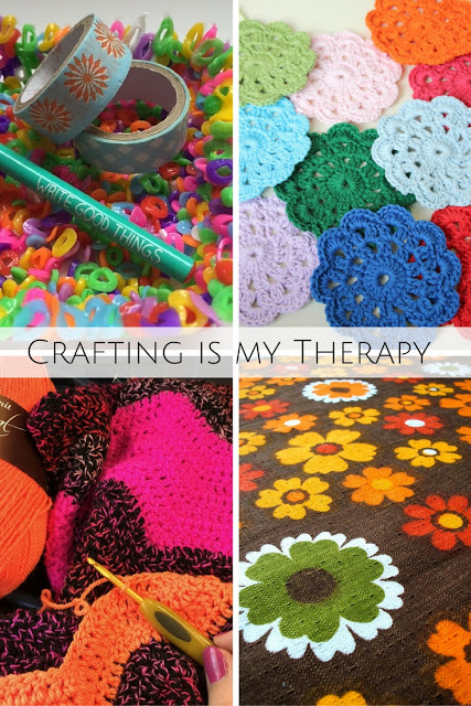 selection of crafts related to crafting is my therapy blog linky