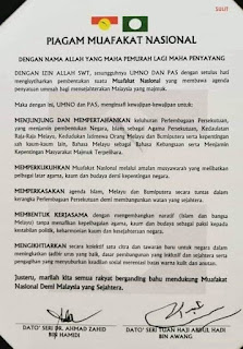 Piagam Muafakat Nasional