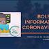 Boletim Coronavírus, veja dados desta sexta