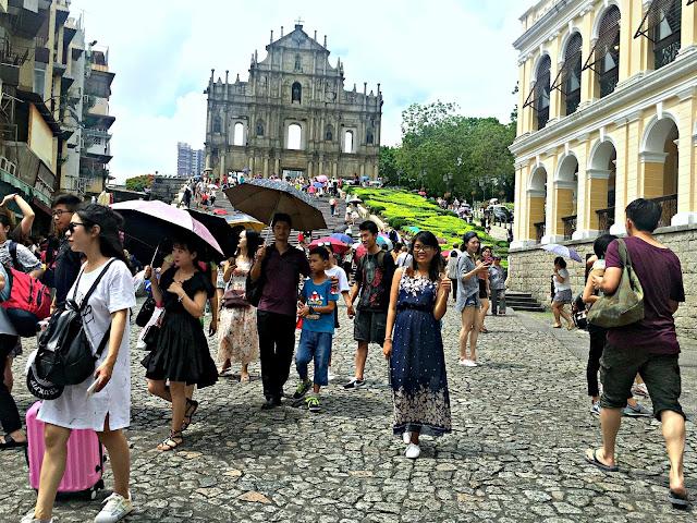 St. Paul Ruins, Macau