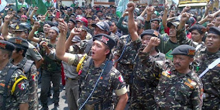 Nah Loh Selepas Ahok Ancam KH Ma'aruf Amin, Kini GP Ansor Serukan Kader Siaga Satu Komando - Commando