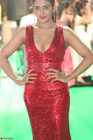 Parul Yadav in Sleeveless Deep Neck Red Gown at IIFA Utsavam Awards March 2017 018.JPG
