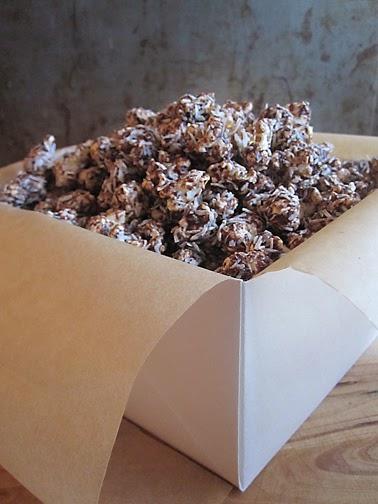 Artistta: Real Food Christmas Basket: Chocolate Almond Butter Popcorn ...
