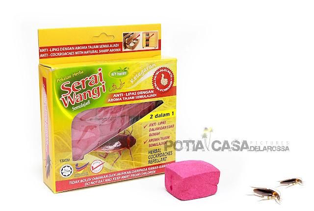 Halau serangga perosak Serai Wangi Anti Lipas Afy Haniff