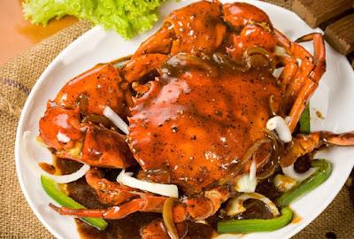 Resep Kepiting Saus Tiram, resep seafood, Crab Oyster Sauce recipe, wisata kuliner,