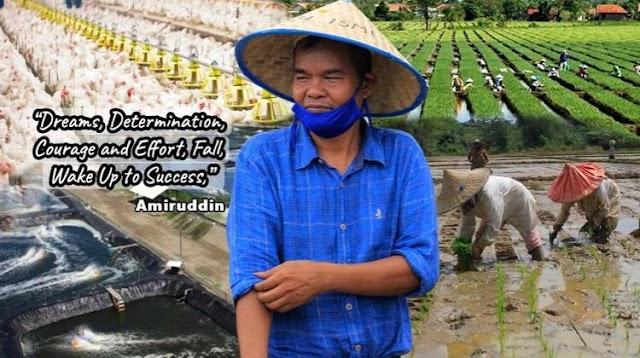 Bang Amir Petani Desa Nahkodai Ketua DPW PRIMA Aceh