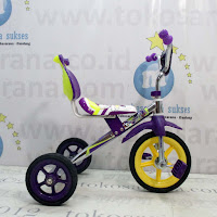 Mommy CP-S Chrome Pernekel Sandaran BMX Tricycle