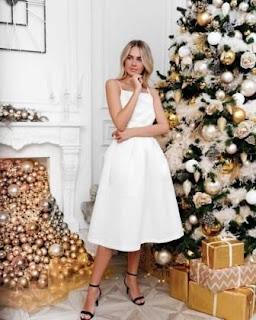 Наряды надеть в новогоднюю ночь в год Белого Быка.