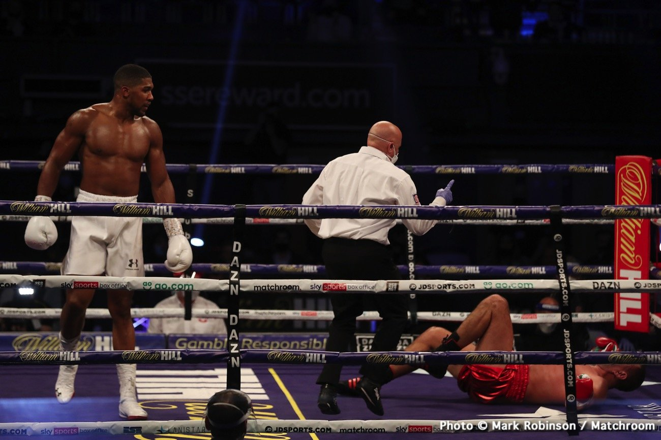 BREAKING: Anthony Joshua Brutally Knocks Out Pulev In Grand Fashion To Retain World Heavyweight Titles #Arewapublisize