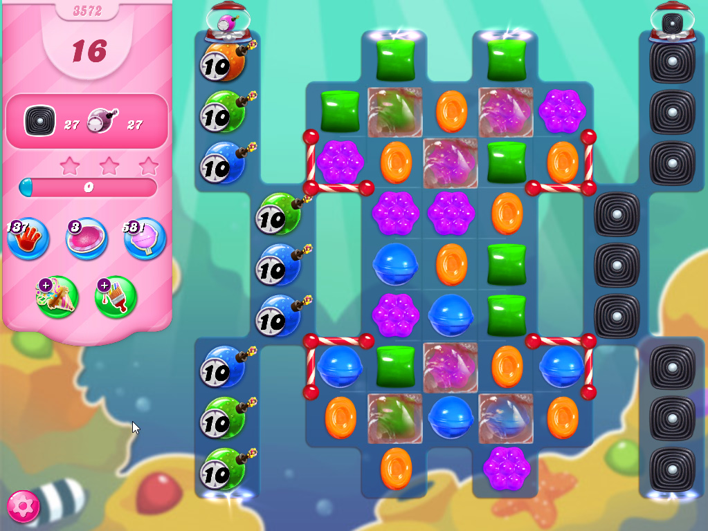 Candy Crush Saga level 3572
