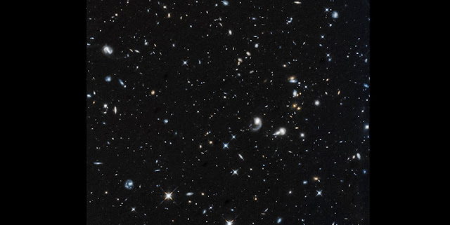 The first image captured by Hubble after returning to science on October 27, 2018, shows a field of galaxies in the constellation Pegasus. The observations were taken with the Wide Field Camera 3 to study very distant galaxies in the field. Credits: NASA, ESA and A. Shapley (UCLA)