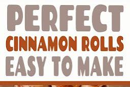 Perfect Cinnamon Rolls Recipe #cinnamonrolls #breakfast #dessert #recipe