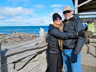 Pat Wayne Dunlap Seno Otway Tierra del Fuego Chile