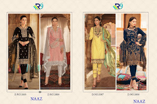 R9 Designer Naaz Georgette pakistani Suits
