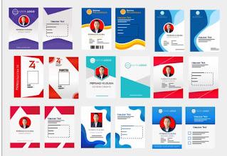Desain id card panitia dan contoh ID Card.