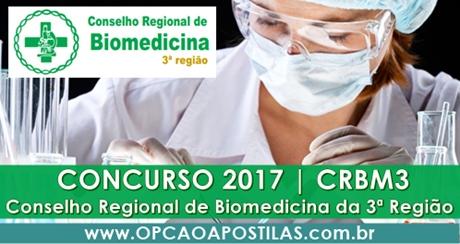 Concurso CRBM3 2017