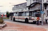 1980 - Trolebús frente al ingreso