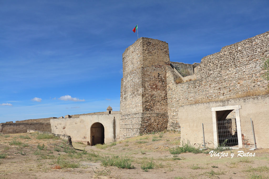 Torre del homenaje de Juromenha