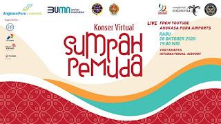 28 Oktober, Bandara Internasional Yogyakarta Jadi Lokasi Konser Virtual Sumpah Pemuda