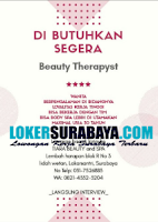 Walk In Interview di Tiara Beauty And Spa Lakarsantri Surabaya September 2020