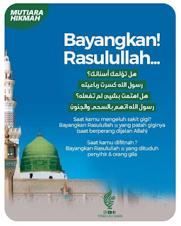 Bayangkan Rasulullah - Qoutes - Kajian Islam Tarakan