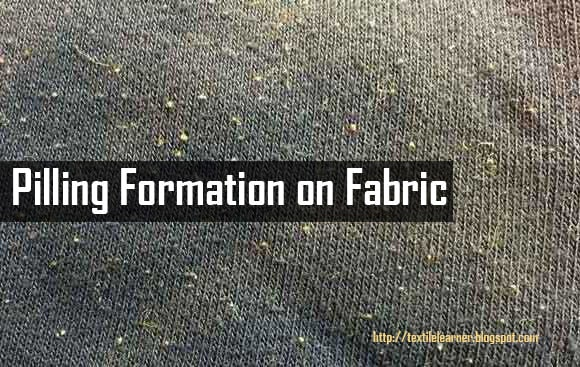Pilling on fabric