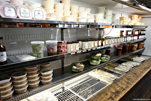 Platos Preparados en la Carnicería Tuckaway en New Hampshire