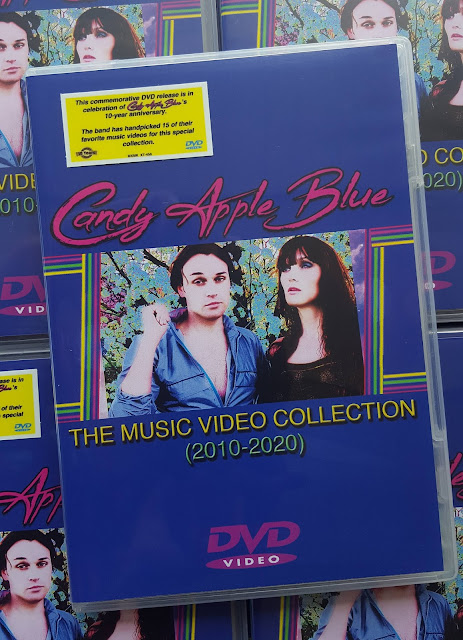 Candy Apple Blue The Music Video Collection (2010-2020) on DVD