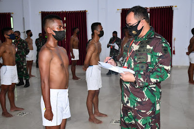 Pemeriksaan gigi seleksi TNI Polri