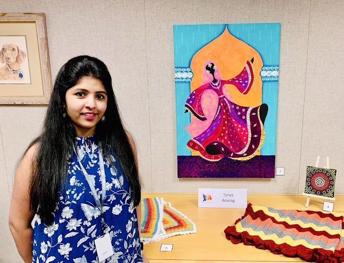 Tanya Anurag - Don't Create Art to Impress Others. Your Art Should Make You Happy (Software Engineer & Professional Artist)