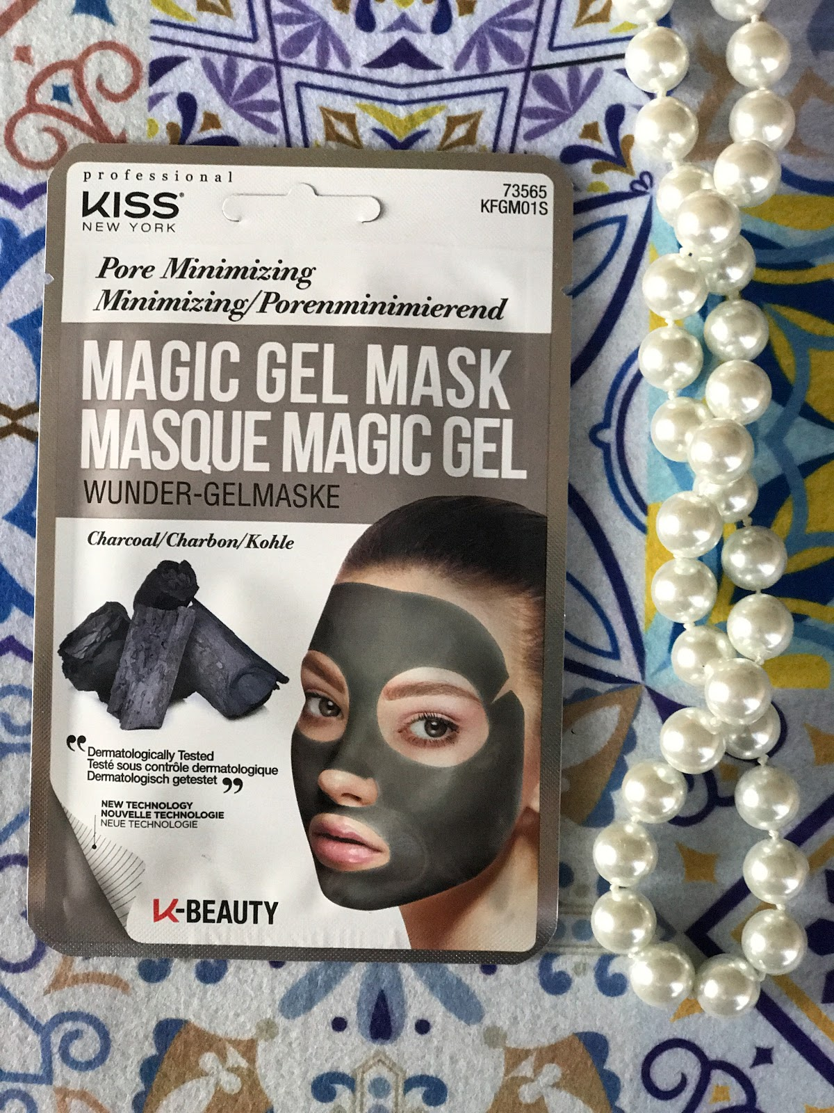Magic Gel Mask Pore Minimizing KISS review recensione