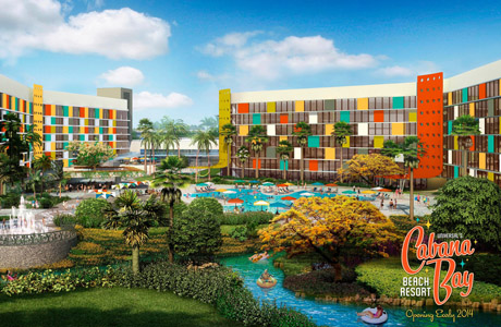 Universal's Cabana Bay Beach Resort, Orlando
