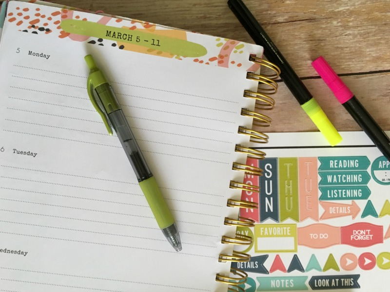Real Girl's Realm: How to Make Planner Stickers Using Cricut