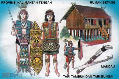 Provinsi Kalimantan Tengah KALTENG