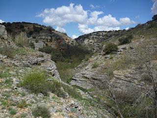 Panorámica del desfiladero del río Talegones