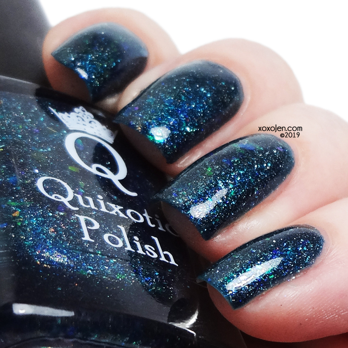 xoxoJen's swatch of Quixotic Polish Storm Watch