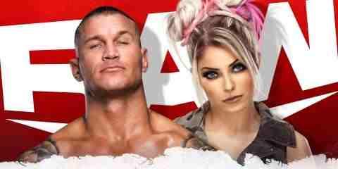 Live broadcast of WWE Raw January 4, 2021