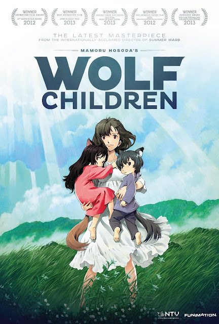 فيلم انمي أطفال الذئب مدبلج عربي HD