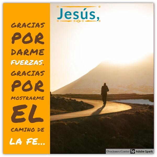 Oración de Gracias a Jesús