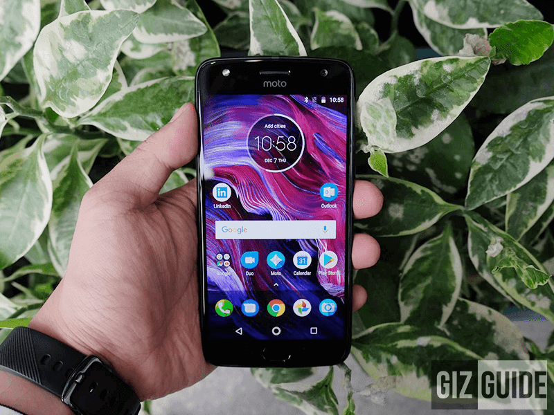 Moto X4 now official in the Philippines for PHP 23,999